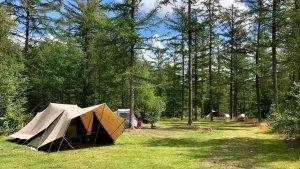 Fysiotherapie op de camping