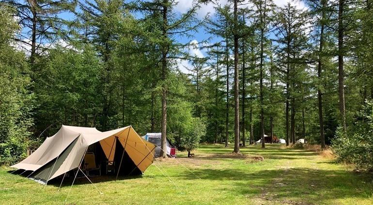 Fysio op de camping